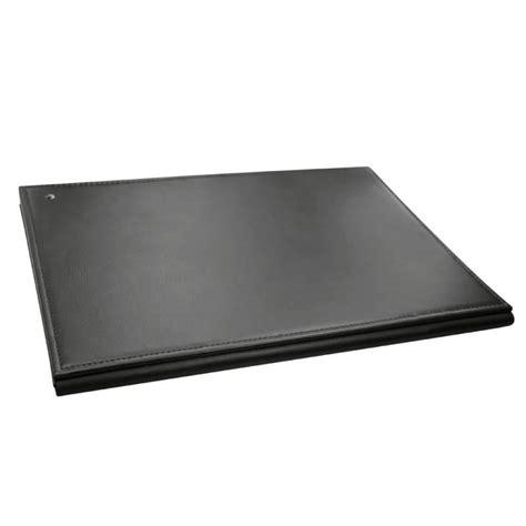 leather folding desk blotter