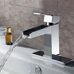 lookshop 174 robinet salle de bain d 233 vier cascade design