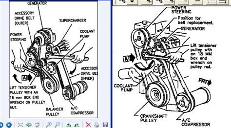 1993 buick coachbuilder power steering belt install 2006 volvo c70 power steering belt install