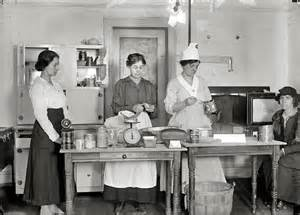 Glass Cabinets For Kitchen shorpy historic picture archive war kitchen 1917 high