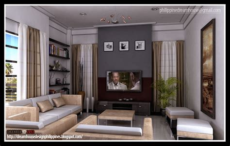 home design living room modern philippine dream house design modern living room