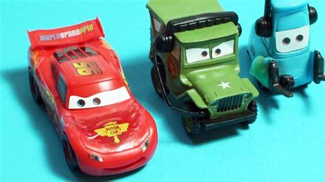 Cars Figure 14pc Disney Pixar Figure Toys Mobil Mainan cars 2 buildable figures disney pixar by