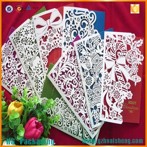 Designs For Greeting Cards With Handmade Paper - laser cut cards handmade paper greeting cards