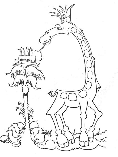dibujos infantiles para colorear de jirafas dibujo de jirafa para colorear imagui