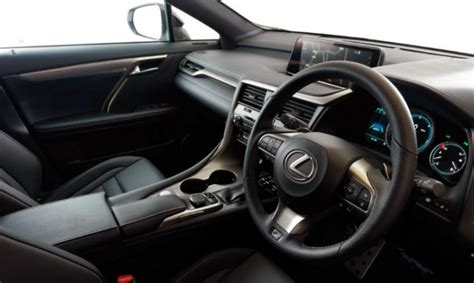 lexus lit price lexus rx wins place on best interiors list lexus