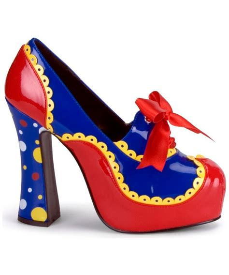 clown slippers clown heels shoes costumes