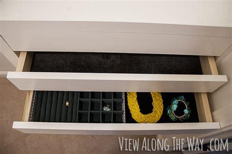 velvet dresser drawer liner anthropologie precious stone knock offs diy
