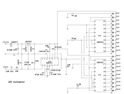 Lu Led Motor Verza Led Tachometer