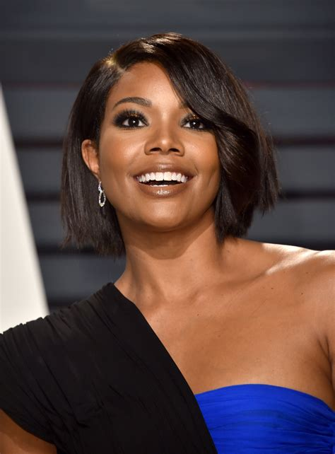 being maryjane hairstyles gabrielle union just chopped off her hair gabrielle