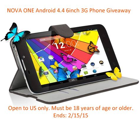 kocaso nova one android phone giveaway the bandit lifestyle - Free Phone Giveaway