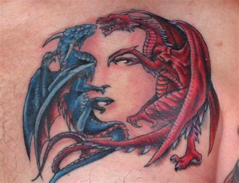 awesome dragon tattoos awesome
