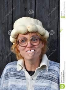 Barn Door Plans Bizarre Woman Stock Photo Image 34212190