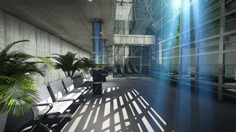 Lumion Interior Rendering by Abandoned Airportverlaten Vliegveld Lumion 3d