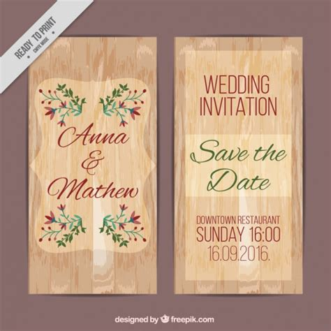 Wedding Card Texture by Wedding Card Of Wood Texture With Floral Details Vector
