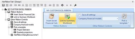 Vb Ribboni customizing excel ribbons and toolbars vb net c