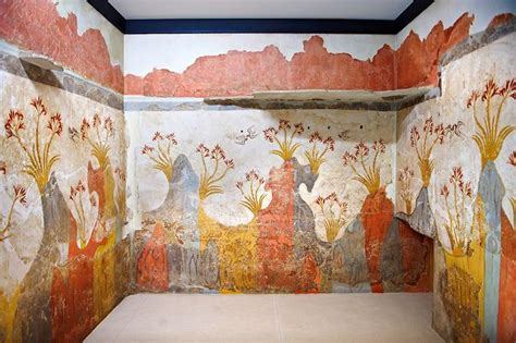 Gift 9737 Ancient 13 best minoan frescos akrotiri images on