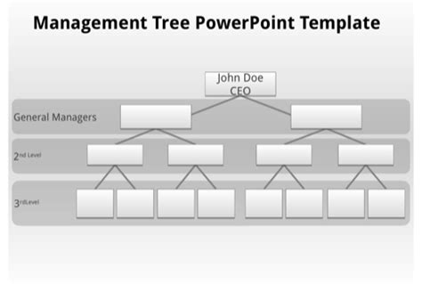 Tree Management Plan Template blank organizational chart for excel pdf and word