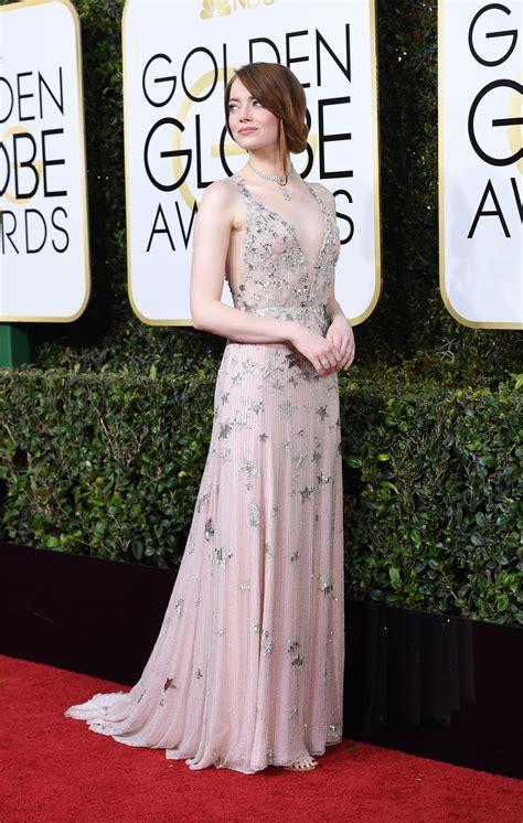 emma stone golden globes 2017 emma stone golden globe awards in beverly hills 01 08 2017