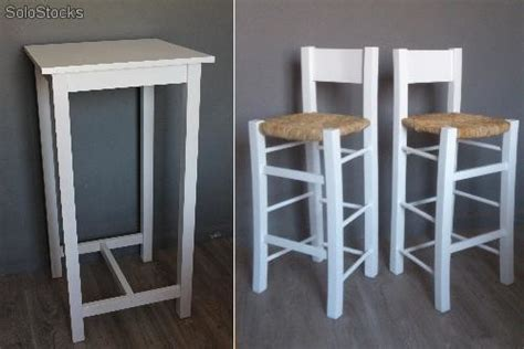 mesa alta con taburetes conjunto de mesa alta con taburetes de anea
