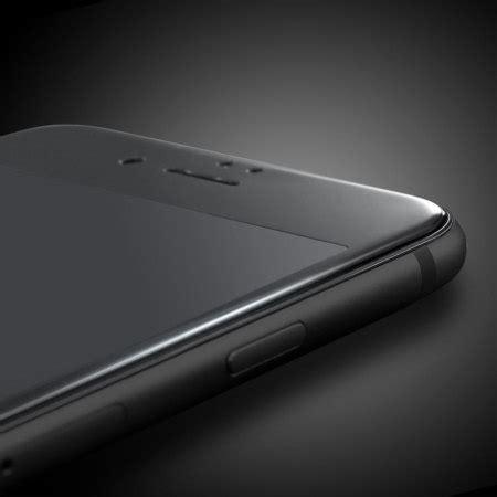 olixar iphone  edge  edge tempered glass screen protector black
