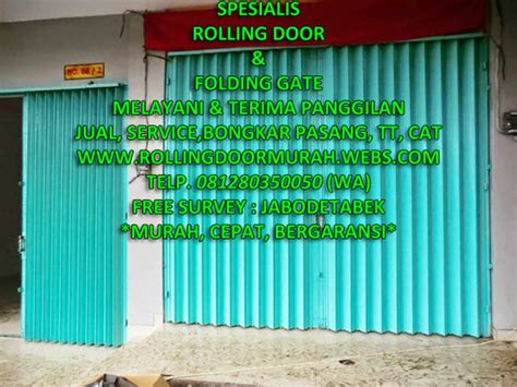 tukang rolling door harga jasa tukang spesialis ahli