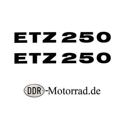 Motorrad Aufkleber Verkleidung by Aufkleber Set Verkleidung Mz Etz 250 Ddr Motorrad