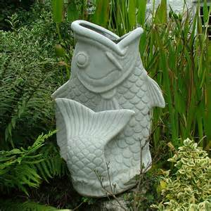 Garden Ornaments Granite Koi Carp Fish Planter Large Garden Ornament S S Shop