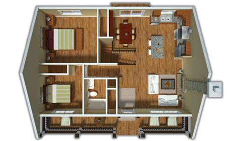 Duplex Floor Plans India by Country Style House Plan 2 Beds 1 00 Baths 900 Sq Ft