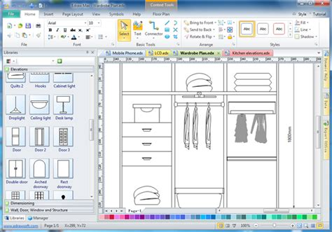 cabinet design software edraw