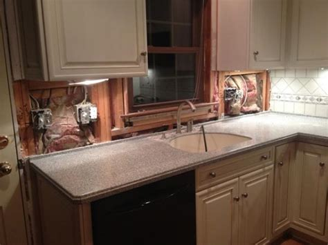 replacing kitchen backsplash replacing insulation in kitchen backsplash doityourself