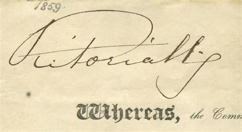queen victoria signature autograph 04 018 queen victoria signature matted and