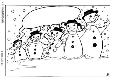 Snowman Family Coloring Pages happy snowman family coloring pages hellokids