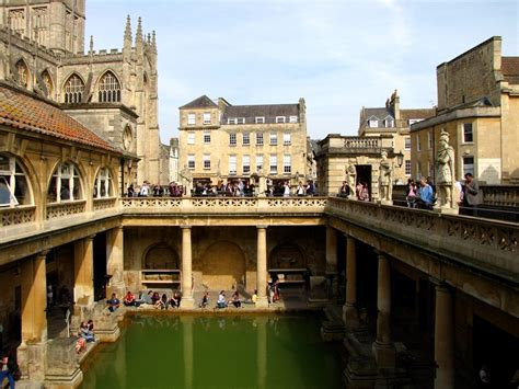 bathroom england well preserved roman baths in bath england