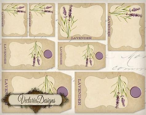 printable lavender labels lavender tags and labels instant download printable