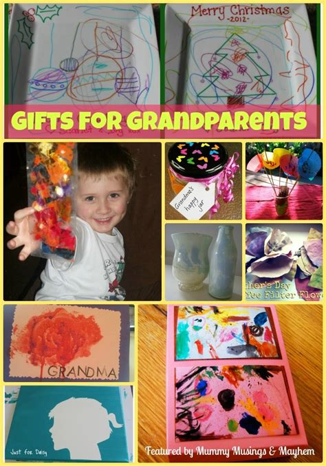 Handmade Gifts From Toddlers - gifts for grandparents
