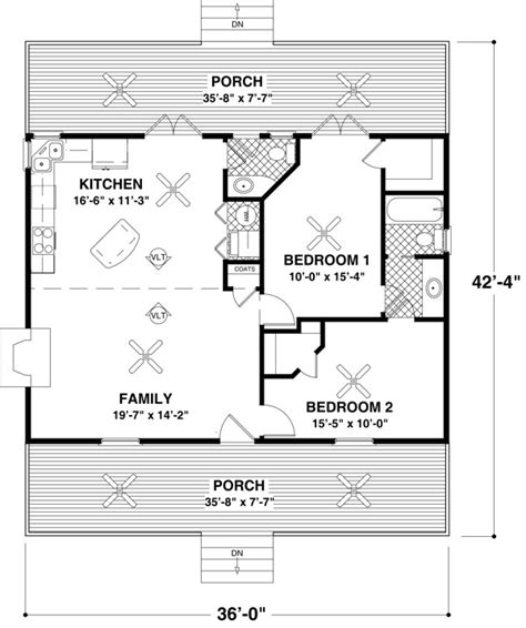 Cabin Floor Plans Under 1000 Square Feet Small House Plans Under 500 Sq Ft Small House Plans