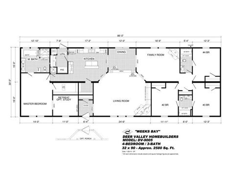 deer valley mobile home floor plans deer valley mobile home floor plans lovely 16 best deer