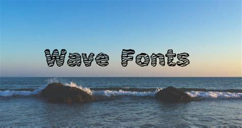 wave fonts ttf otf  design trends