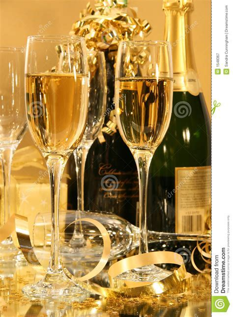 Champagne Party stock image. Image of party, glamorous