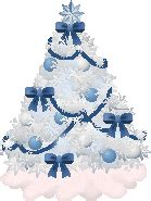 blue christmas service clip art tree clipart free graphics