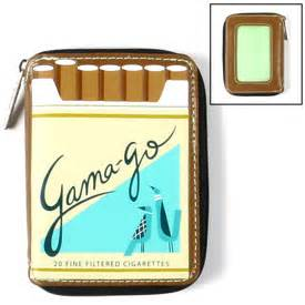 Pack O Smokes Wallet From Gama Go stained couture fashion style more