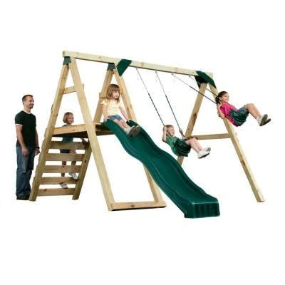 4x4 swing set plans swing n slide playsets pine bluff play set just add 4x4 s