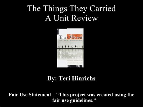 Essay Questions For The Things They Carried by The Things They Carried Essay Homeless Essay