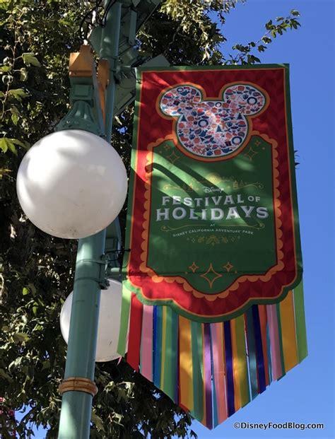 disneyland festival of holidays at disney california adventure park the disney food