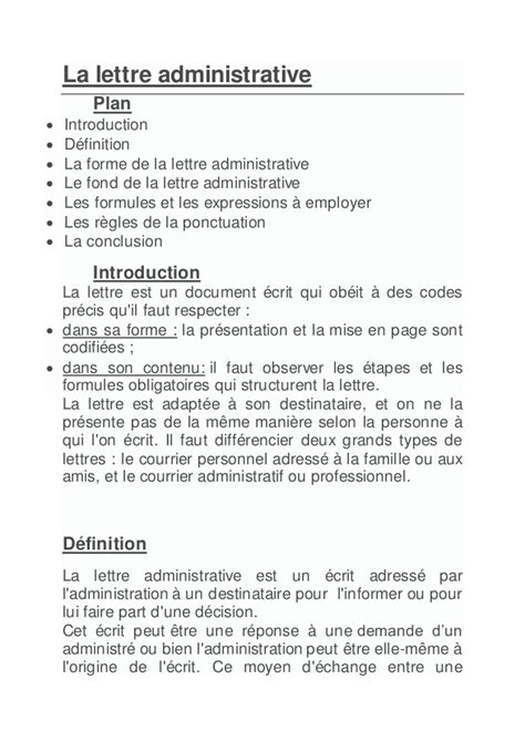 Exemple De Lettre Motivation Administration La Lettre Administrative