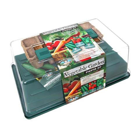 Mr Fothergill S Vegetable Garden Starter Kit Bunnings Vegetable Garden Seed Kits