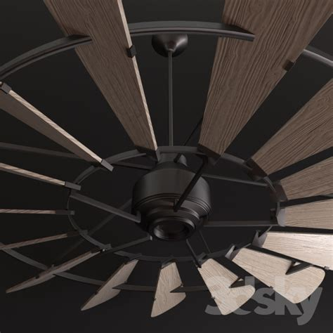 3d Models Ceiling Light Horchow Windmill 72 Ceiling Fan