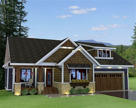 cottage plans with garage craftsman style house plan 3 beds 2 baths 1807 sq ft