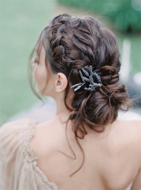 spanish formal hair ethereal lavender spanish wedding inspiration modwedding