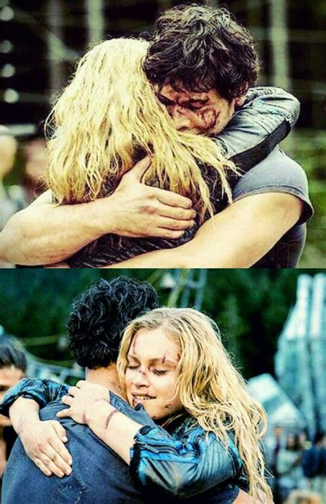 libro 100 hugs bellarke hug yes finally the100